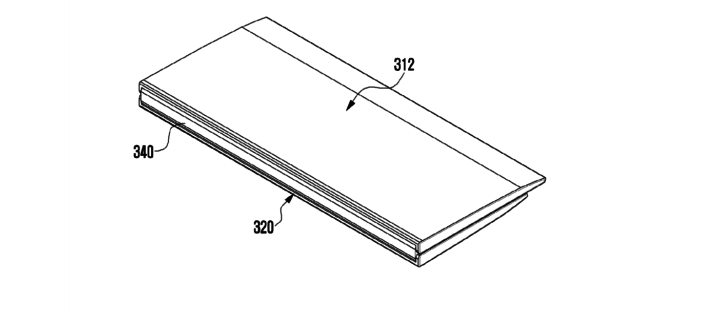 Samsung Patent Application For Device With Flexible Display And Hinge - 03