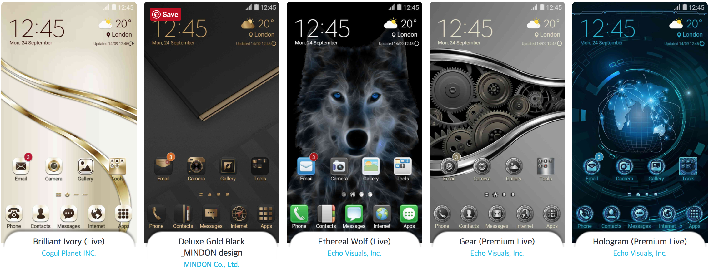 Samsung Showcases The Best Themes Of 2016