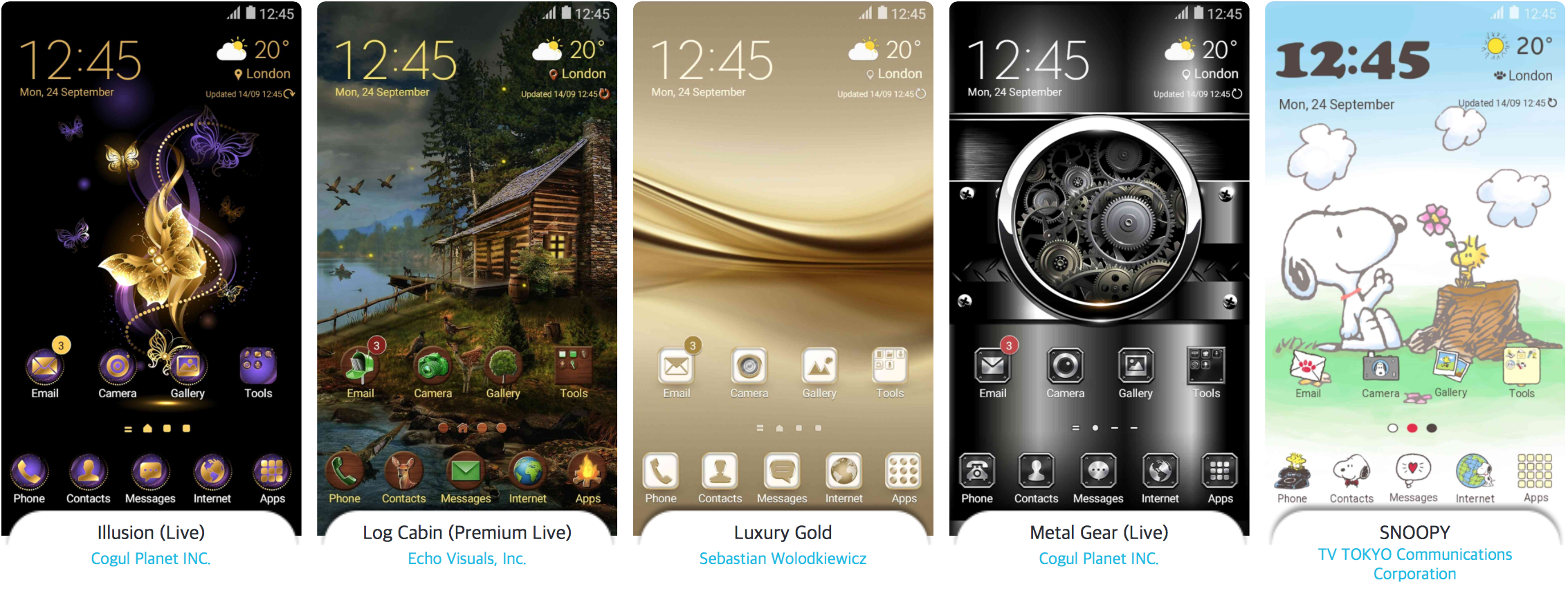 Samsung showcases the best themes of 2016 - SamMobile