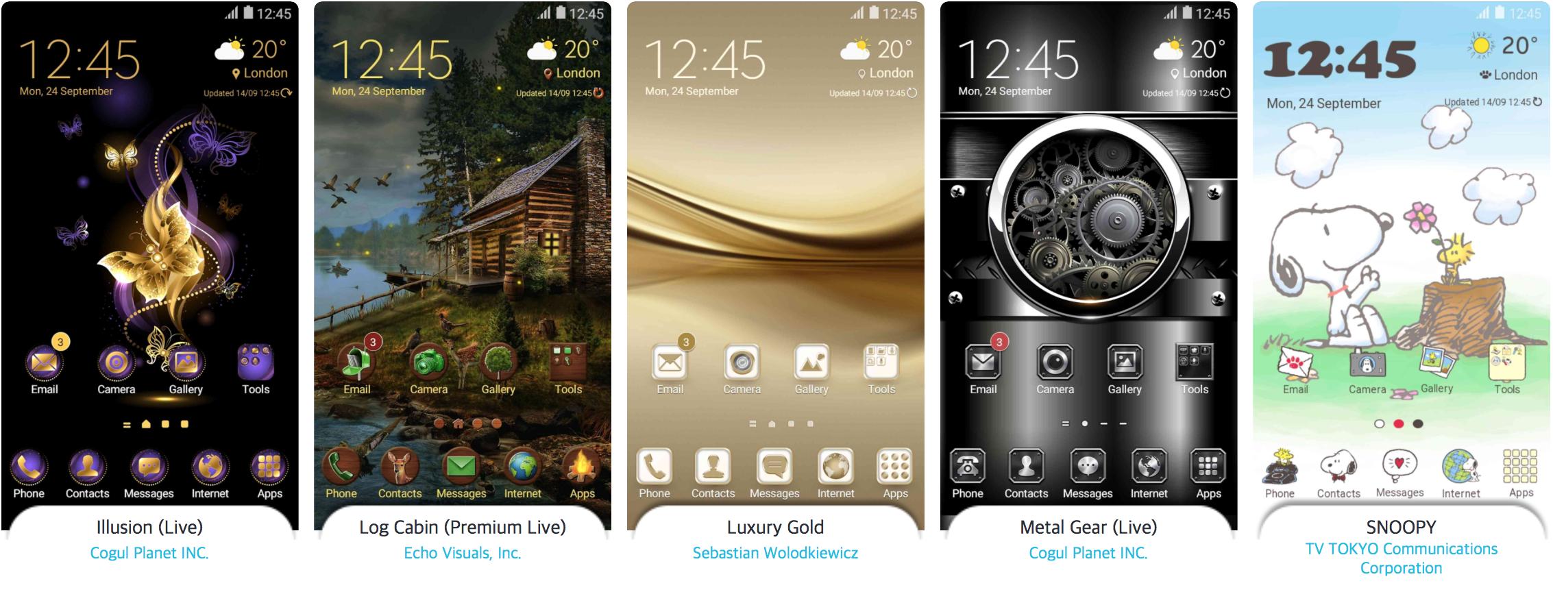 Samsung showcases the best themes of 2016 - SamMobile - SamMobile