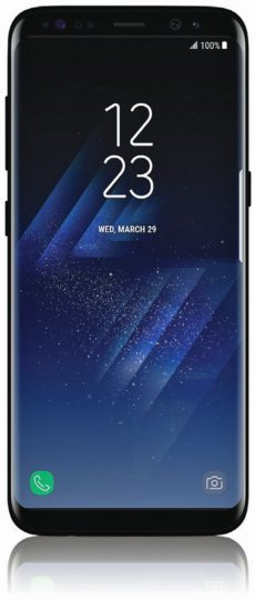 Galaxy S8 press shot whole