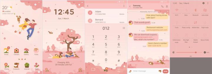 Samsung Galaxy Theme - [HIO] Spring Girl Live