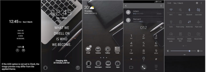 Samsung Galaxy Theme - Worker & MOH (Live & AOD)