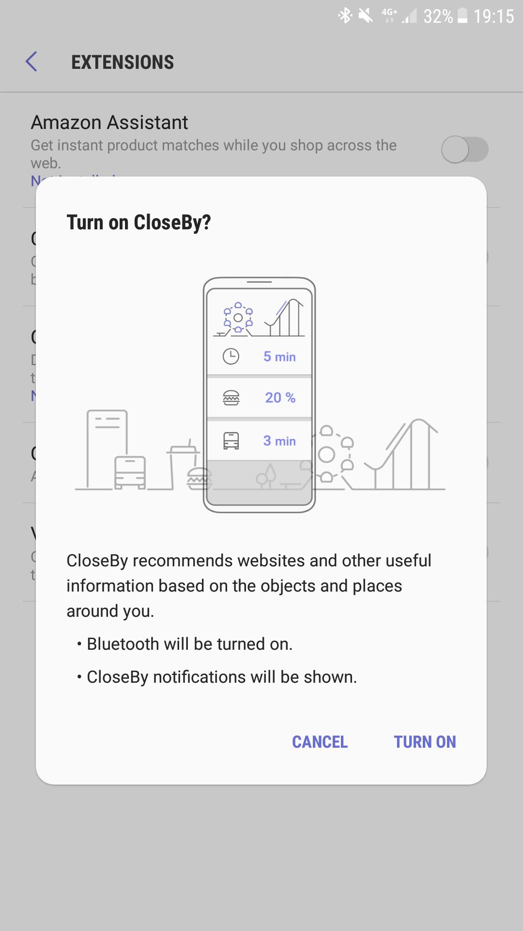 Samsung Internet Beta application highlights design of the