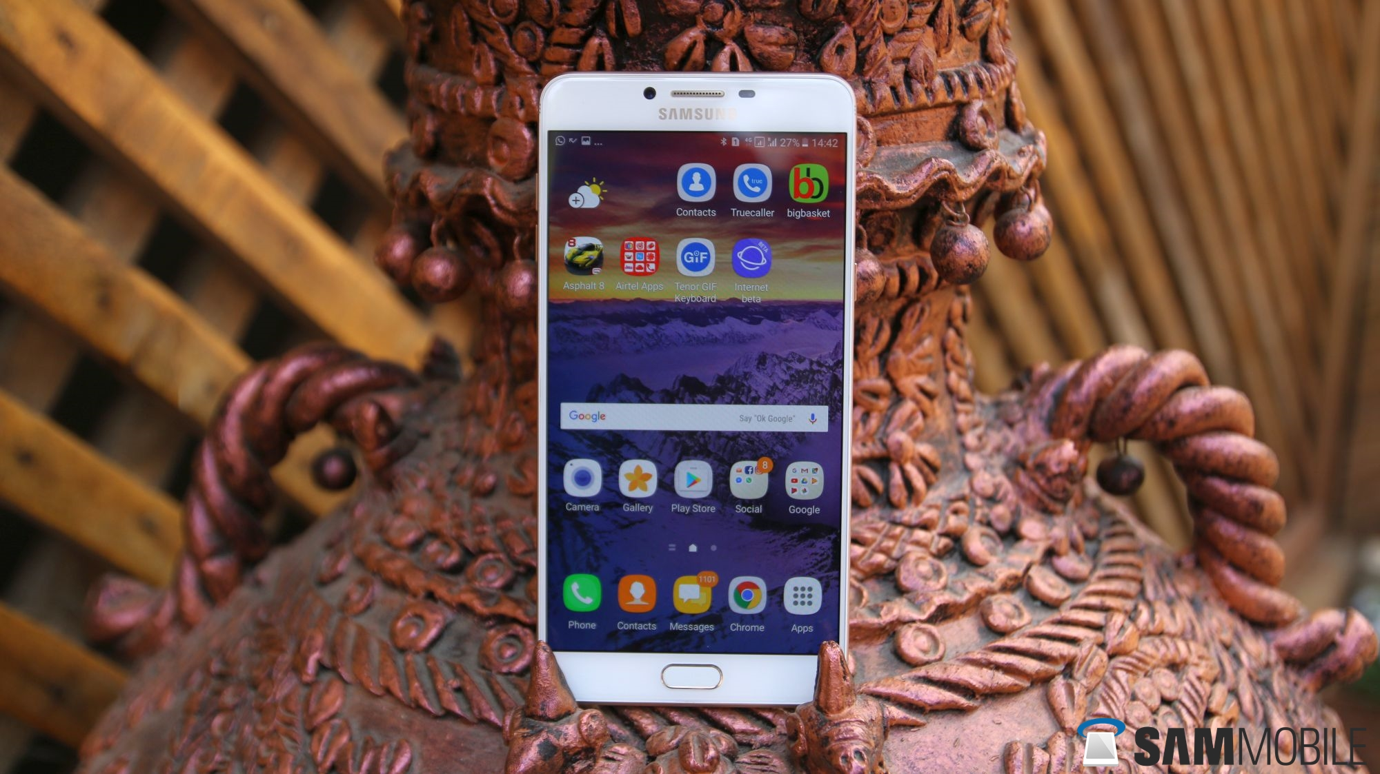 Nougat now being tested on the Galaxy C5, Galaxy C7 and Galaxy C9