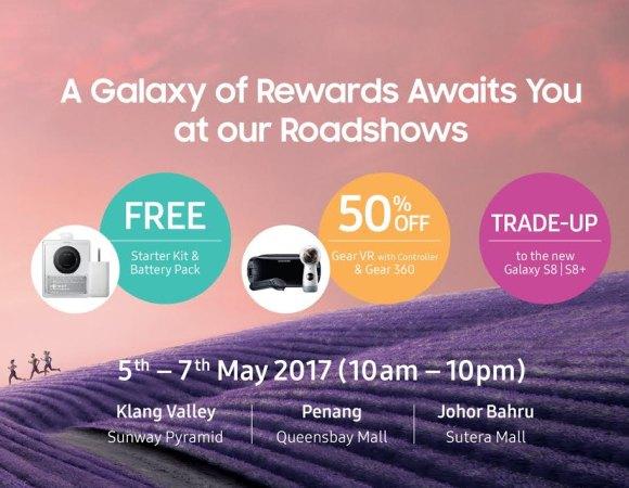 Samsung Galaxy S8 Malaysia Roadshow Offers