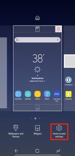 Samsung Galaxy S8 Plus - All Apps On Home Screen - 01