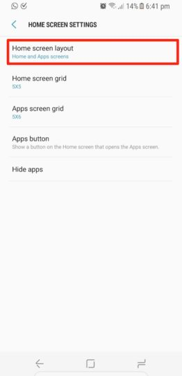 Samsung Galaxy S8 Plus - All Apps On Home Screen - 02