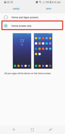 Samsung Galaxy S8 Plus - All Apps On Home Screen - 03