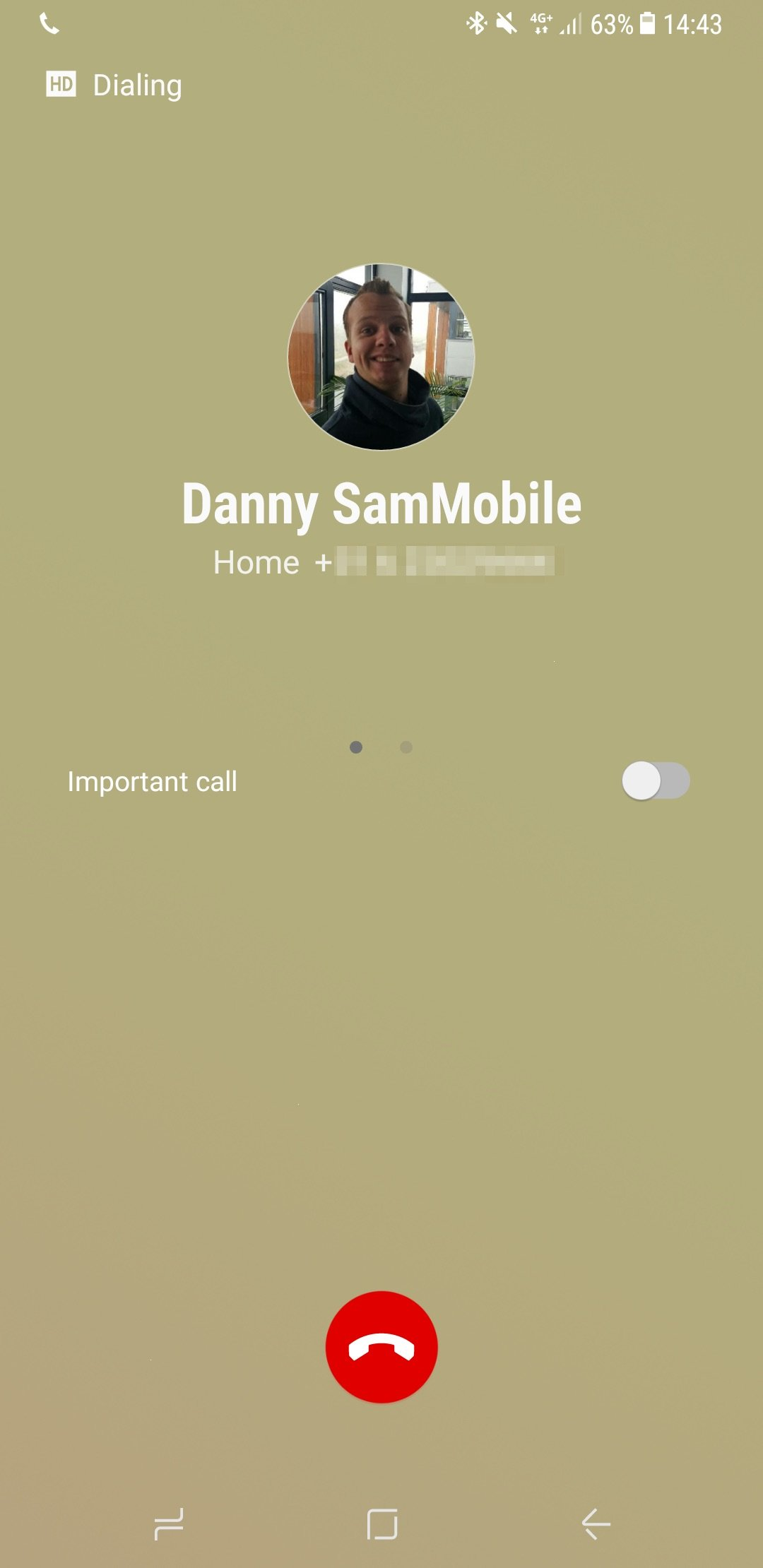 Galaxy S8 Tip: Let the callee know that your call is important using