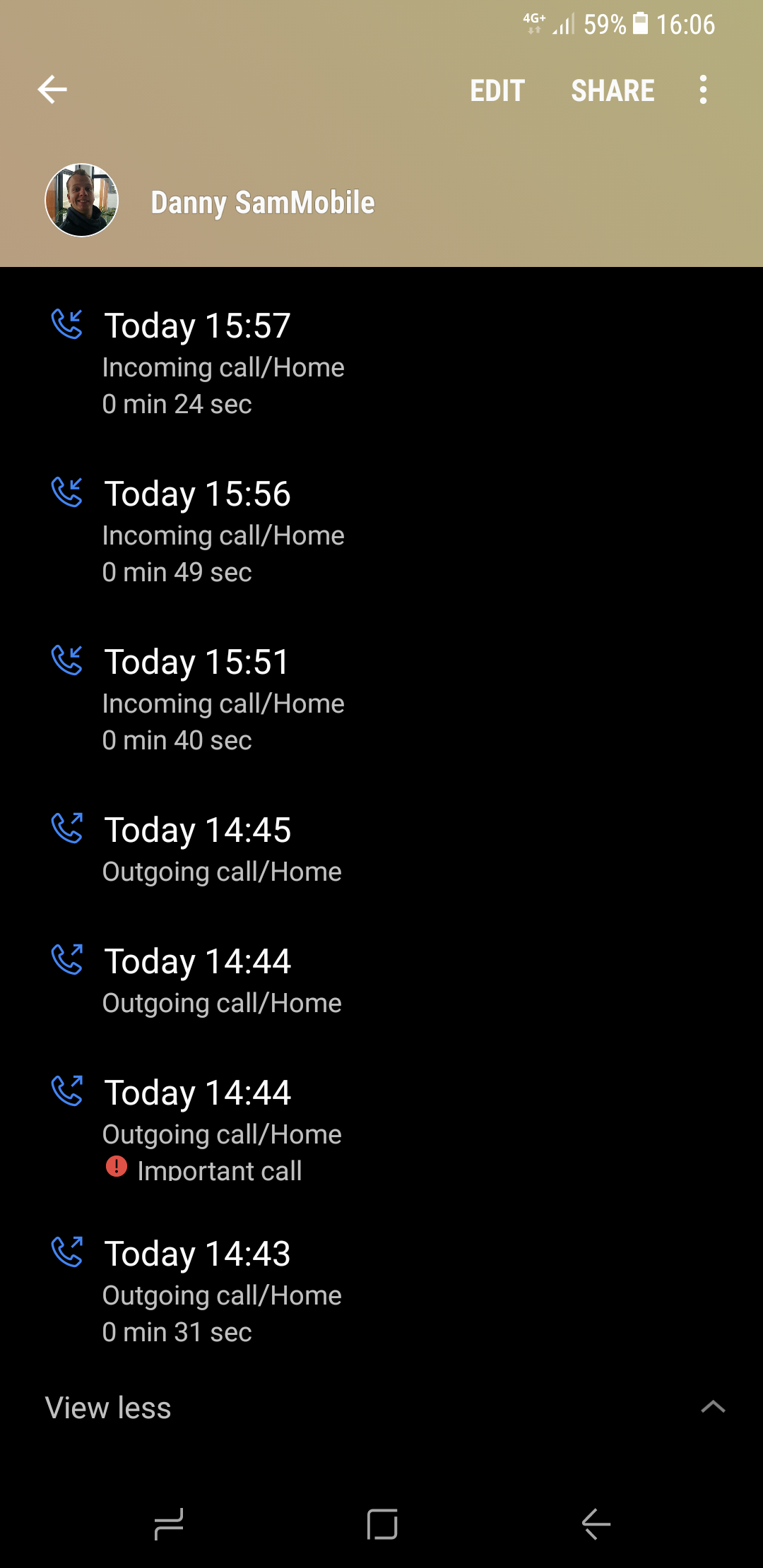 Galaxy S8 Tip: Let the callee know that your call is