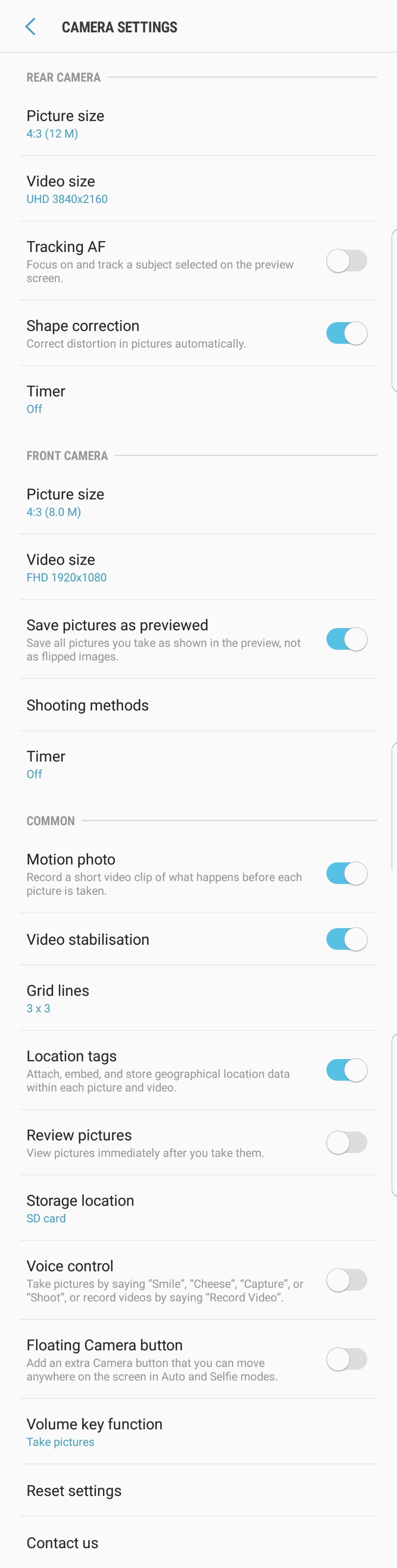 Samsung Galaxy S8 Plus - Missing Camera Quick Launch Feature