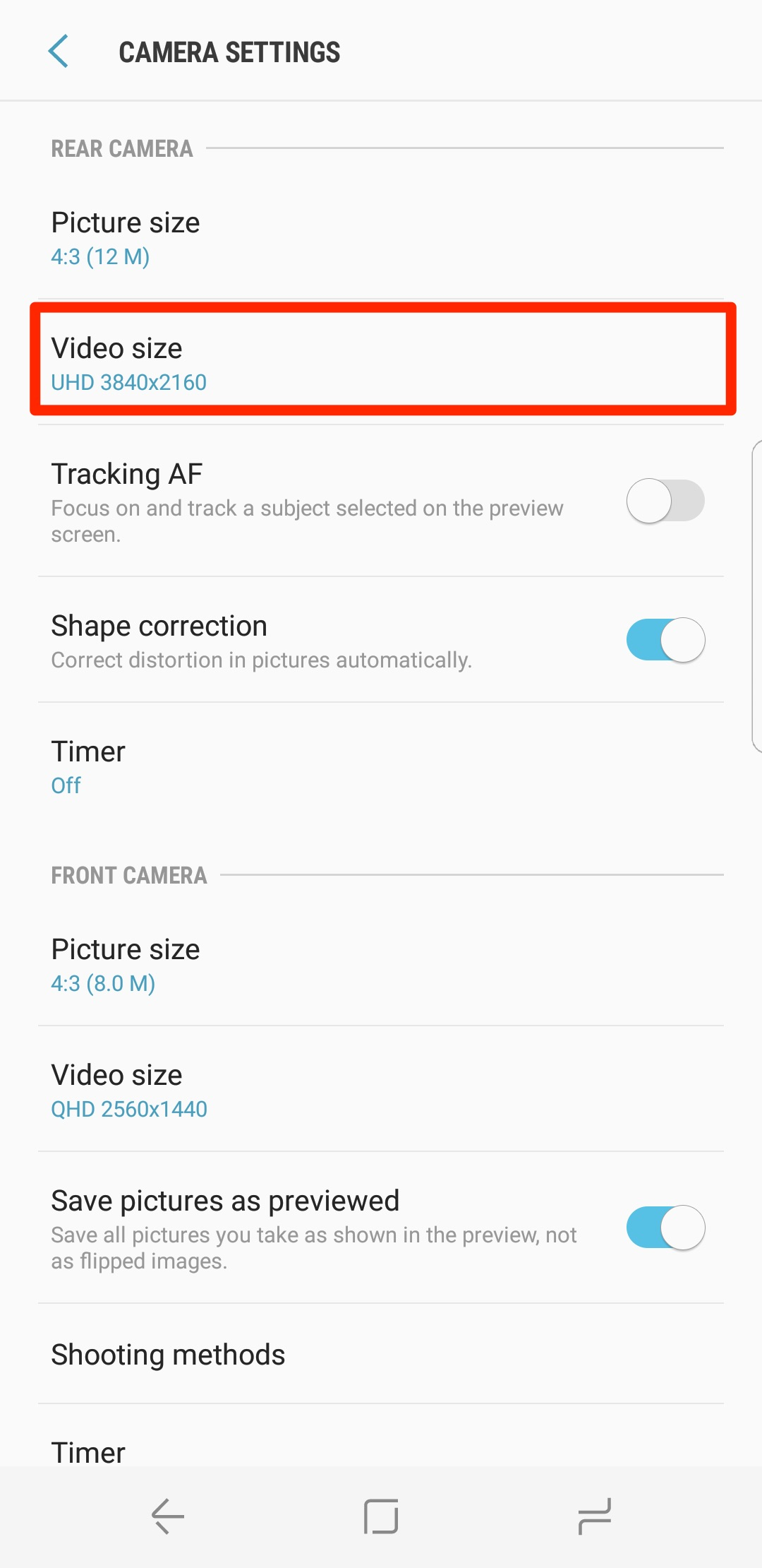 Galaxy S8 Tip: Here's how to enable image stabilization ...