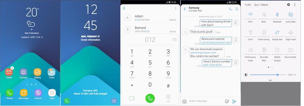 Samsung Galaxy Theme - AURORA