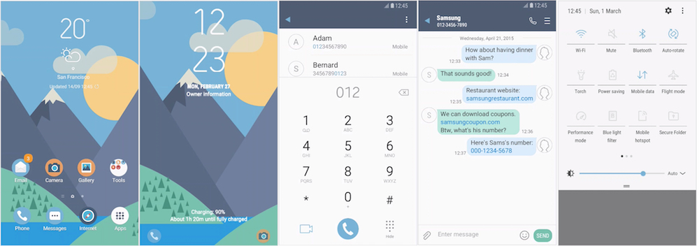 Samsung Galaxy Theme - Flipside