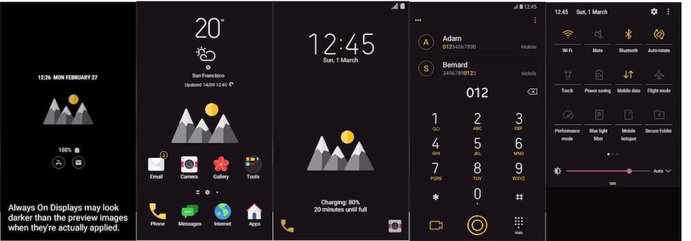 Samsung Galaxy Theme - [NR] Sierra