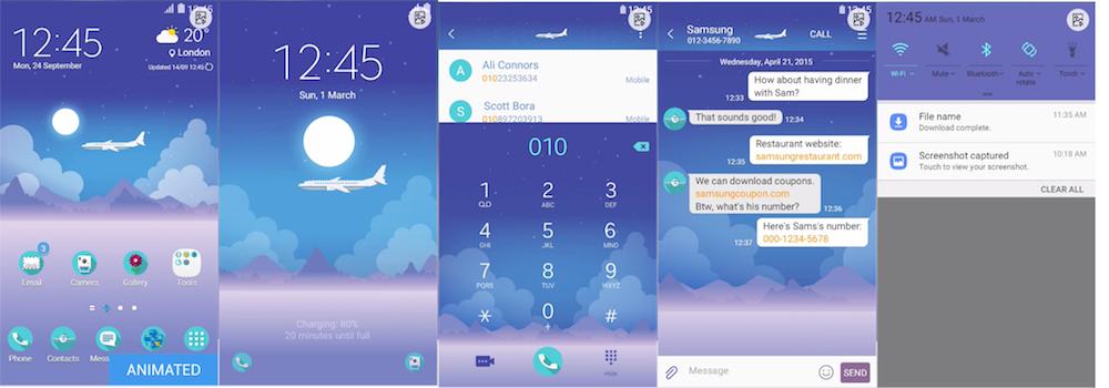 Samsung Galaxy Theme - [PIXOME] Calm Flight (LIVE!)