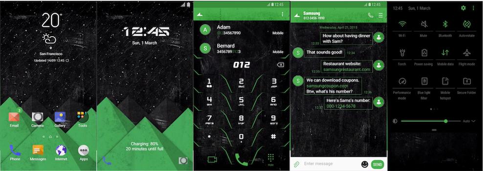 Samsung Galaxy Theme - [Soni] Flair UI