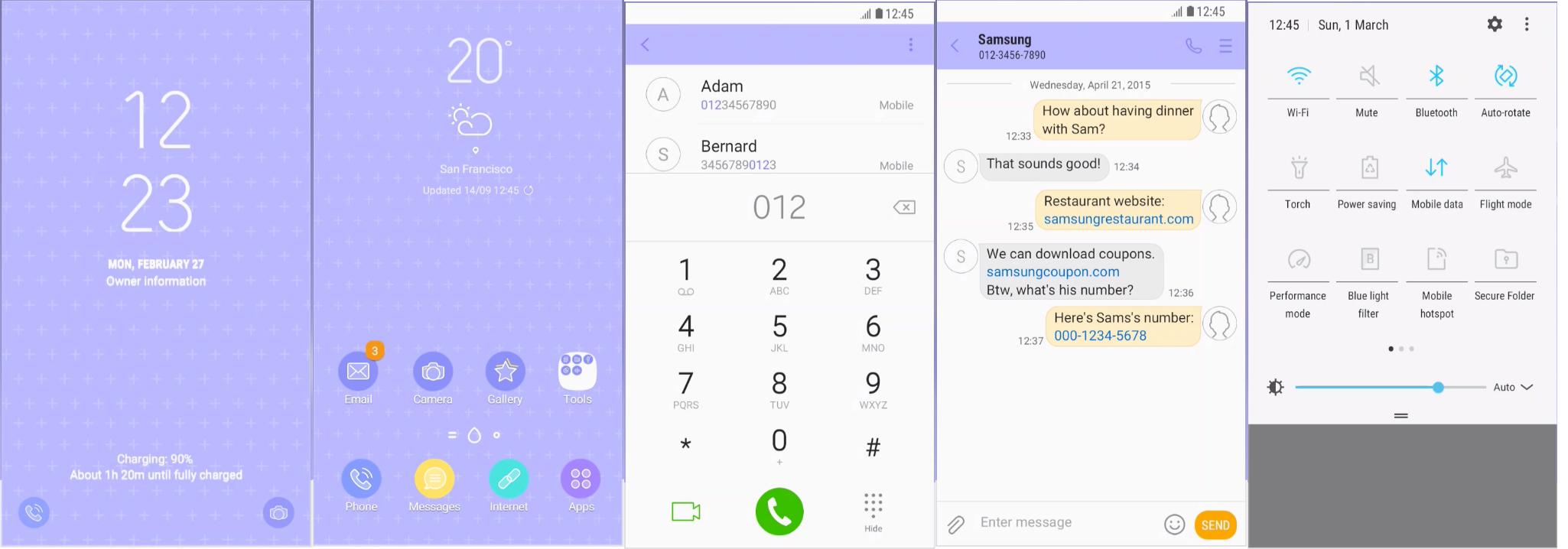Samsung Galaxy Theme - Spring [Inah]