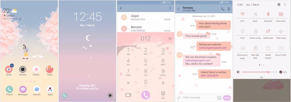 Samsung Galaxy Theme - [Very] Flower Way