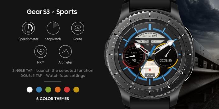 Samsung Gear S3 Sports Watchface