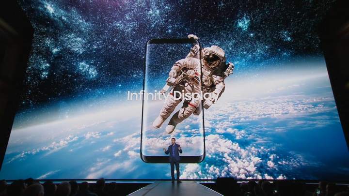 Galaxy S8 S8 plus Infinity Display