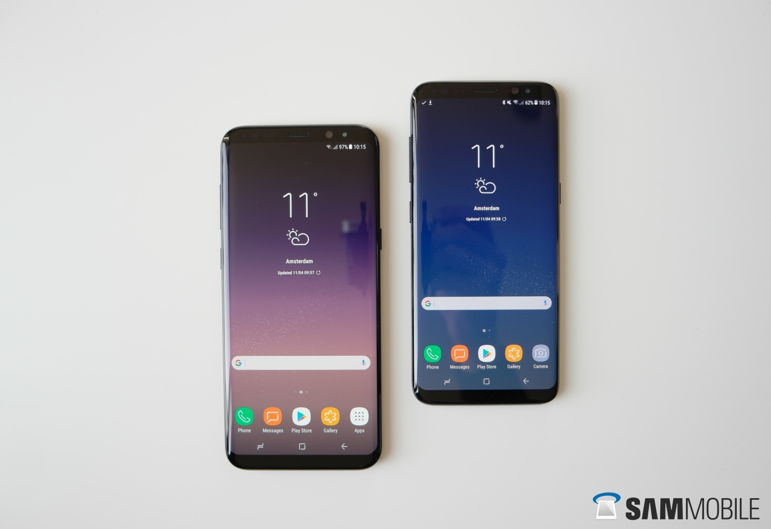 AT&T and T-Mobile Galaxy S8 and Note 8 receiving Android Pie update
