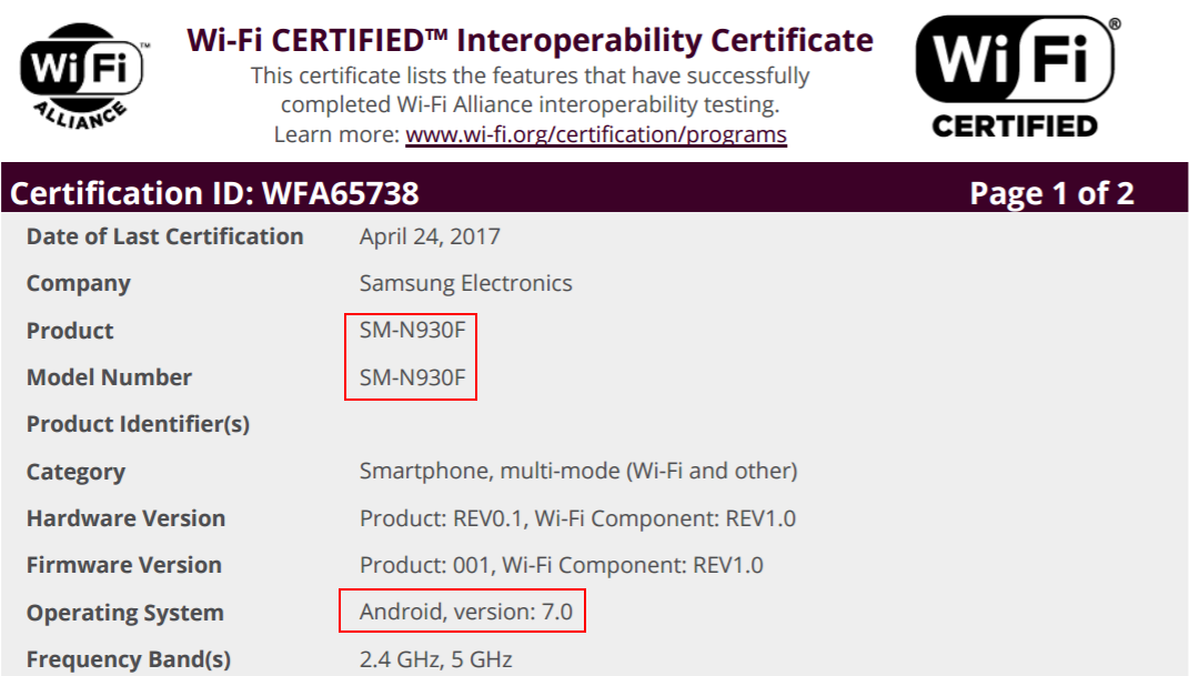 original-note-7-cert - SamMobile - SamMobile