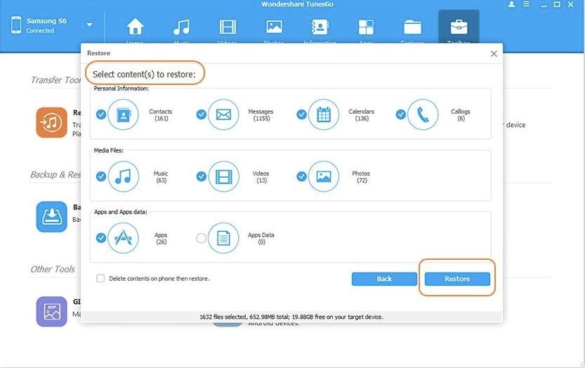 how to take backup of samsung mobile