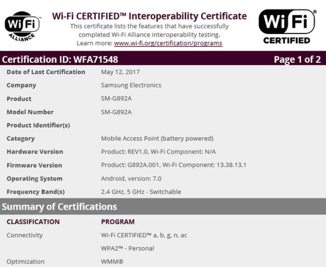 Galaxy-S8-Active-wifi-certification