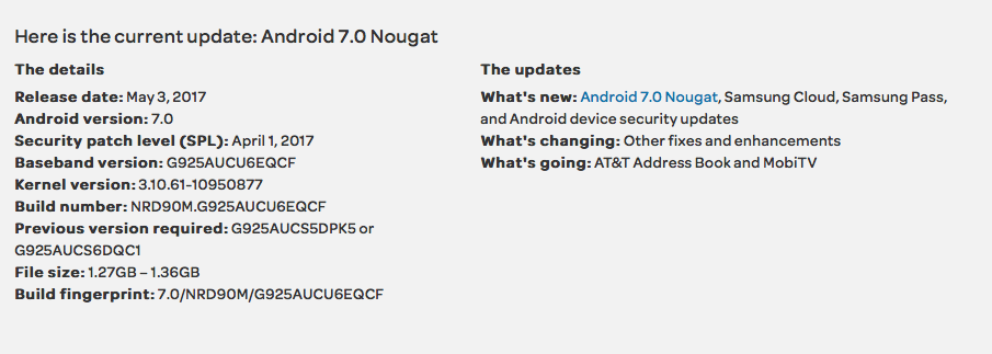 Samsung Galaxy S6, S6 edge, and S6 active start receiving Android