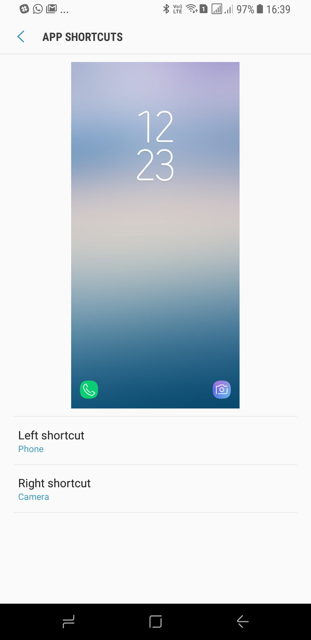 Galaxy S8 Tip: Change the app shortcuts on the lock screen
