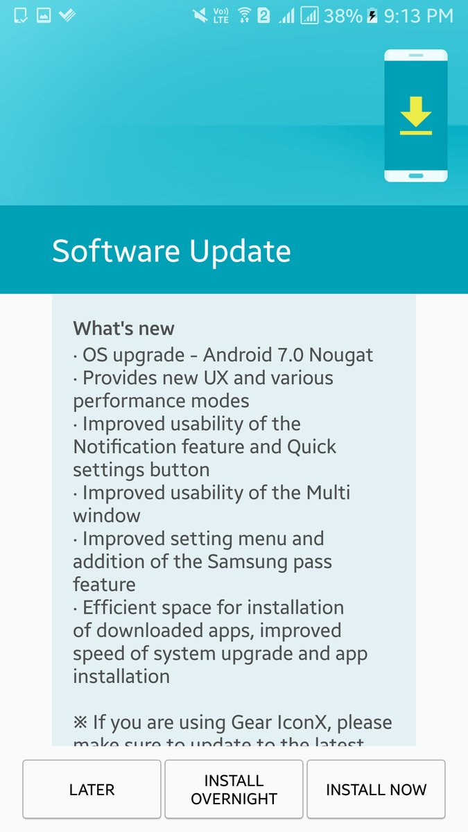 Update: Galaxy A7 (2016), too] Android 7 0 Nougat hits the