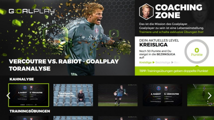 Goalplay App For Samsung Smart TV