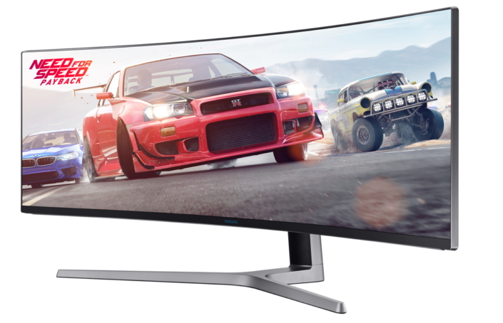 Samsung CHG90 QLED Curved Gaming Monitor - 01