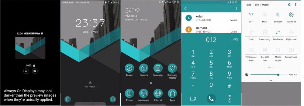 Samsung Galaxy Theme - [Binod] BlueCityUI