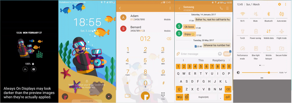 Samsung Galaxy Theme - [Binod] ScubaUI