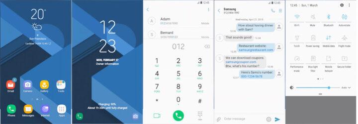 Samsung Galaxy Theme - Greight W: Background