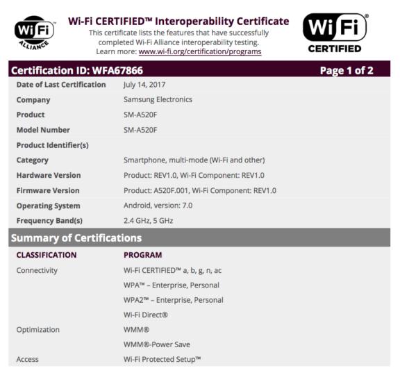 Sm A520f Firmware