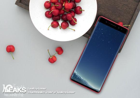 Samsung Galaxy Note 8 Case Leak