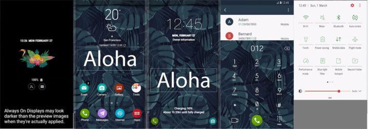 Samsung Galaxy Theme - [Binod] AlohaUI
