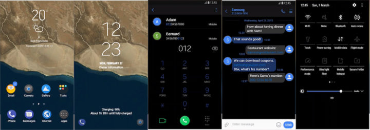 Samsung Galaxy Theme - [Kendi] Android O Black