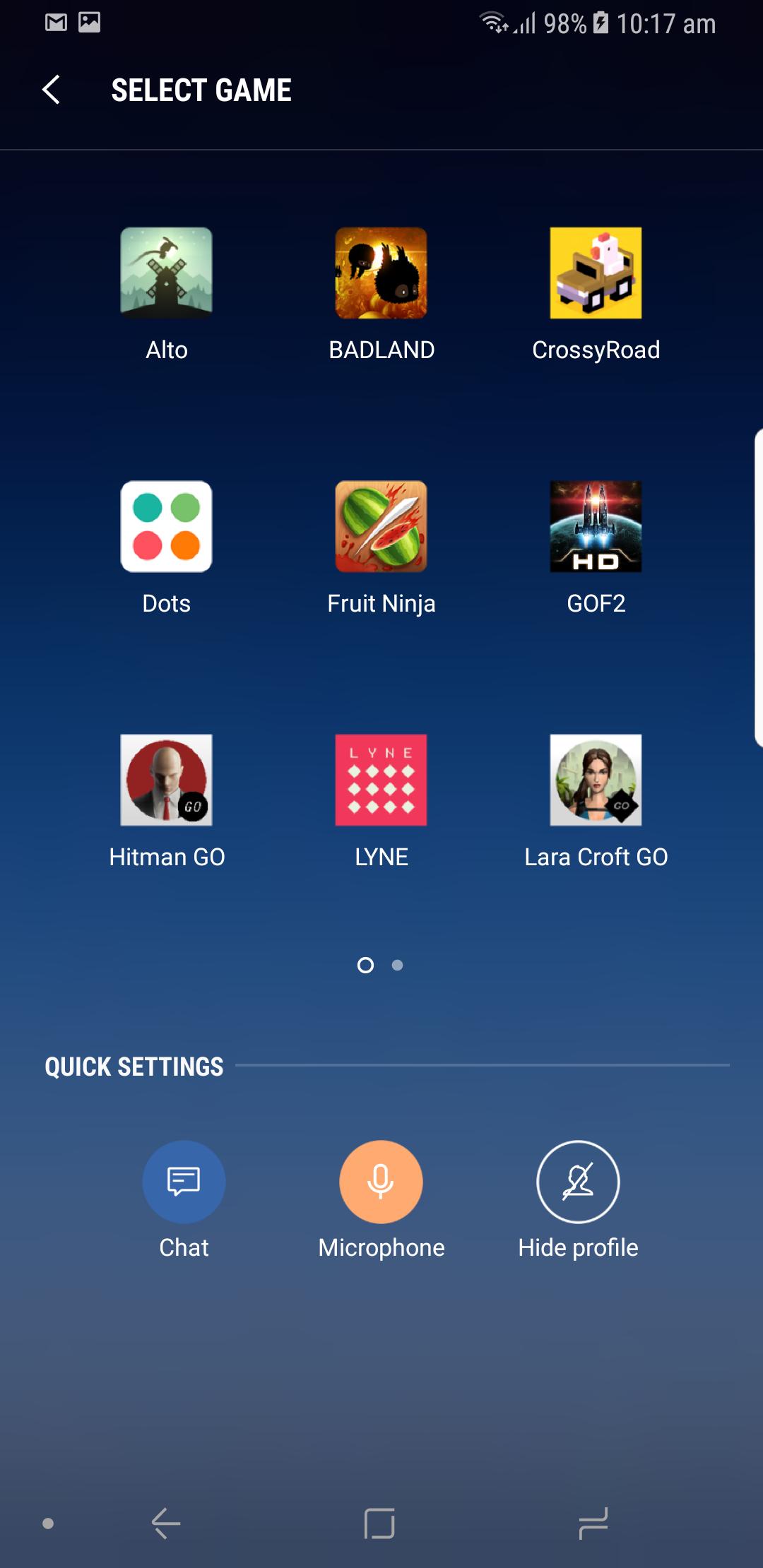 Samsung Apps Games
