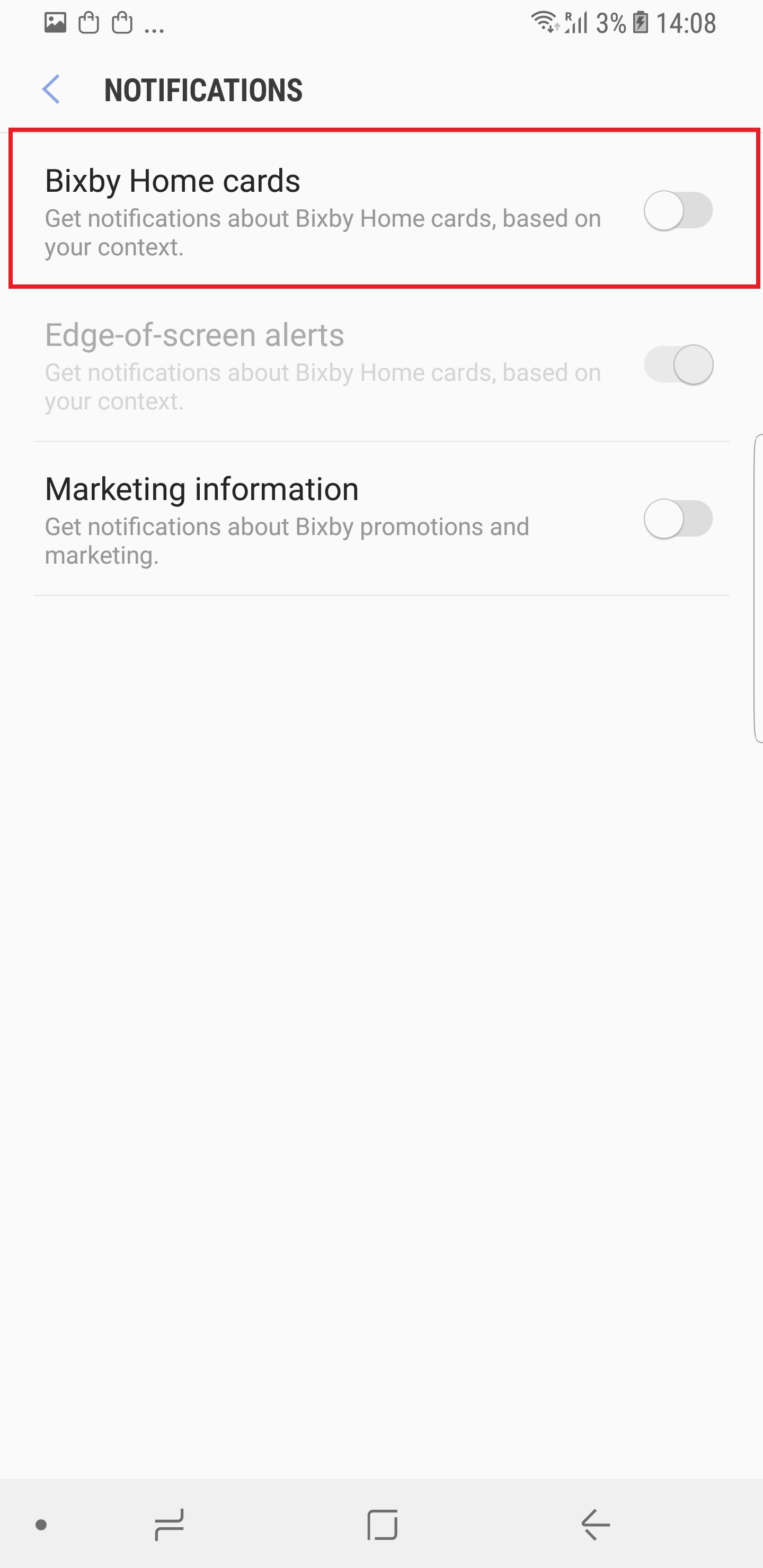 Galaxy S8 Tip: Disable Bixby notifications and reminders - SamMobile