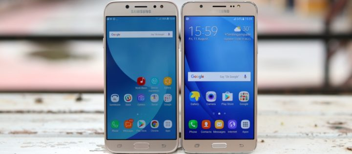 Samsung Galaxy J7 (2017) Vs Galaxy J7 (2016) In Pictures
