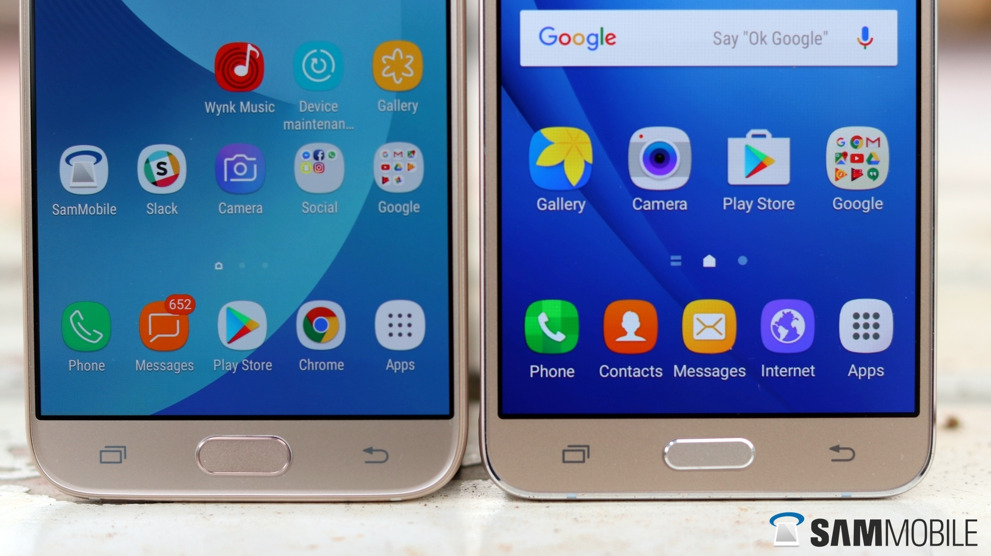 samsung galaxy j7 2017 vs galaxy j7 2016 in pictures