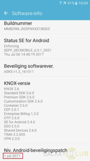 Original Galaxy J5 getting July security patch in Europe
