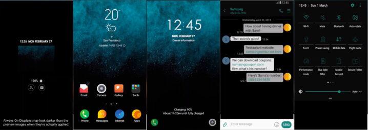 Samsung Galaxy Theme - [Binod] BlueGlitterUI