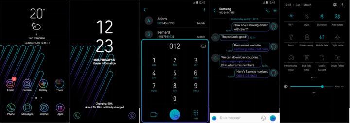 Samsung Galaxy Theme - [GS] Black Onix