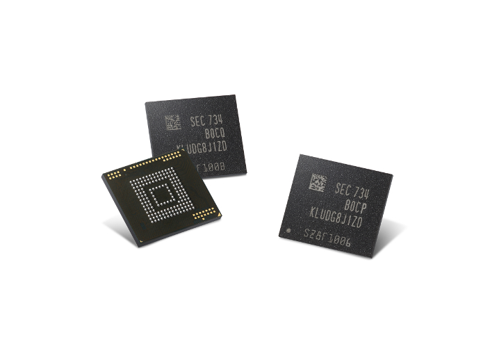 Image result for Samsung Has Begun Production of 512GB Flash Storage For Next Gen Phones